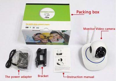 Packing Camara Ip Robotizada